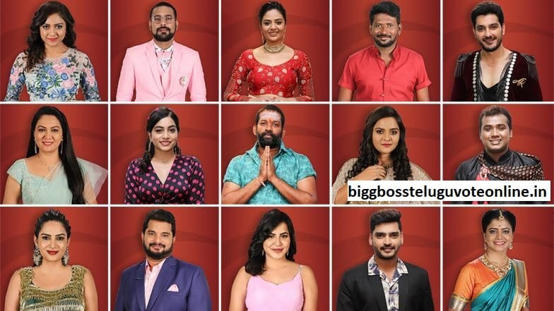 Bigg Boss 3 Telugu Contestants List