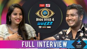 Actress Swathi Deekshith bigg boss buzzz with rahul