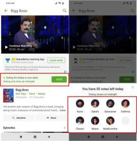 bigg boss tamil hotstar voting